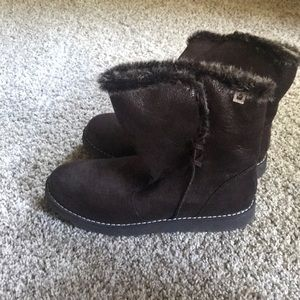 Bobs fur lined boots size 8 women's
